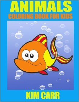 The Animals Children's Coloring Book can keep your children occupied for hours, coloring their favorite cartoon type animals. Coloring at such a young age is great for cognitive, fine motor skill development while they learn to color in the lines and make their parents their own beautifully colored pictures filled with love.