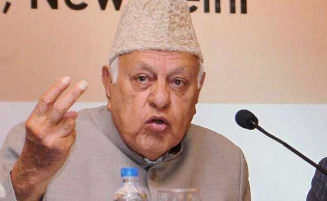Farooq Abdullah Bats For Friendly Relations Between India And Pakistan