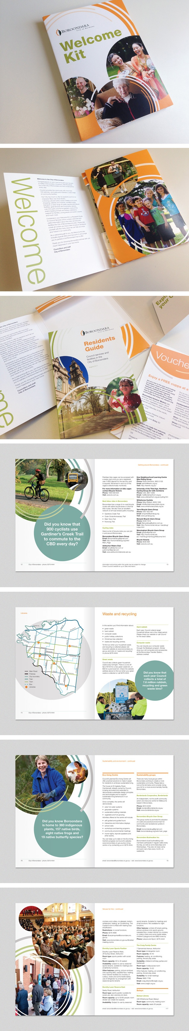 Residents Guide for City of Boroondara. www.fenton.com.au #communication #PR #branding #graphicdesign #brochure