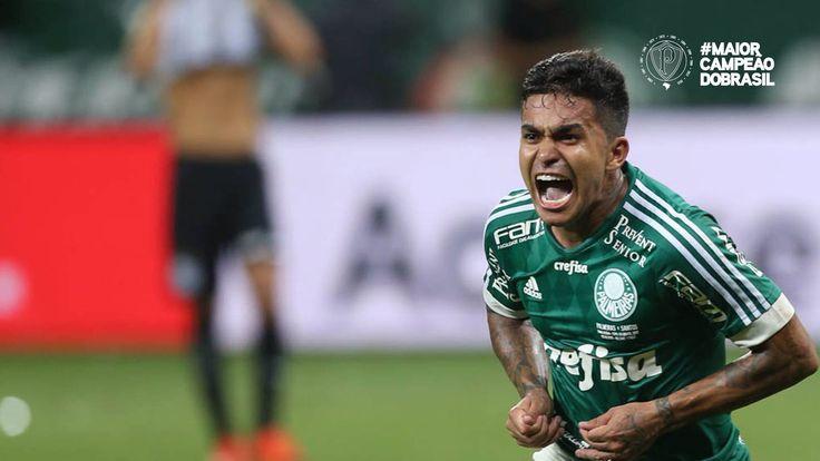 Dudu, autor dos gols da final no Allianz Parque