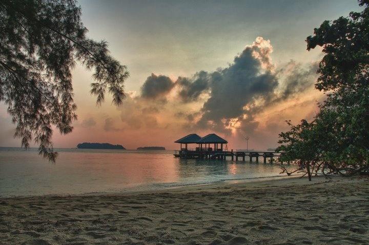 Sunrise Pulau Putri Barat - Kep. Seribu -