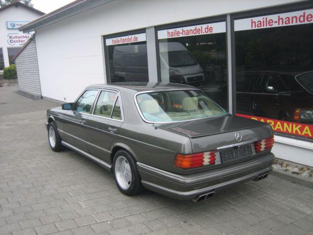 Mercedes-Benz 500 SE H-Kennzeichen in Auto & Motorrad: Fahrzeuge, Automobile, Mercedes-Benz | eBay