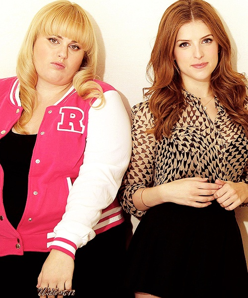 Rebel Wilson, could you TRY to be less perfect? -R