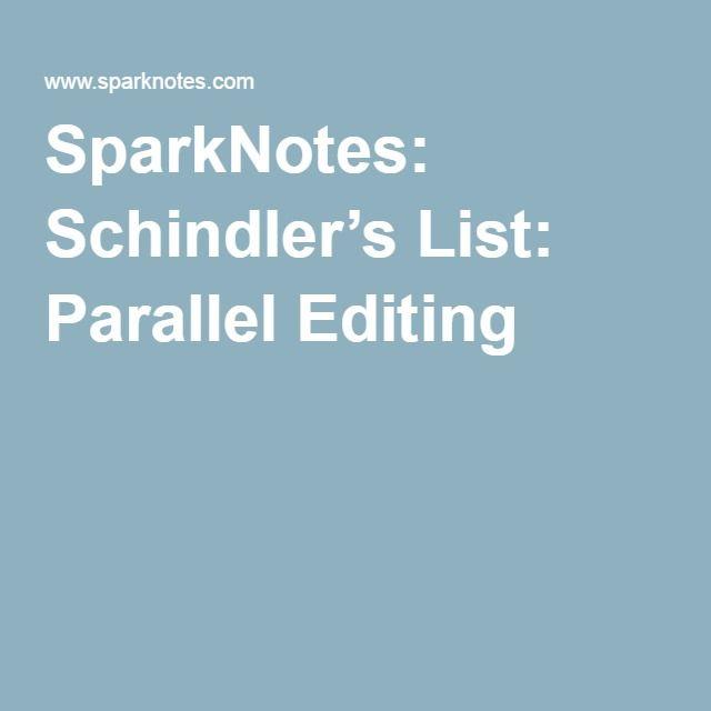 schindler's list essay prompts