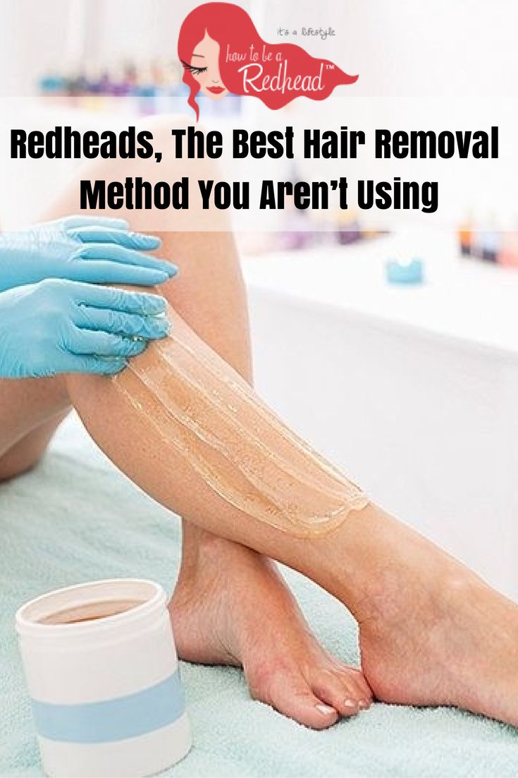 Redheads, The Best Hair Removal Method You Aren't Using | Sugaring
