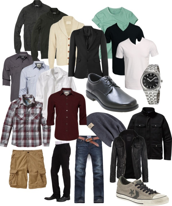 Mans FallWinter Wardrobe By Rmarieg On Polyvore Hubby Style