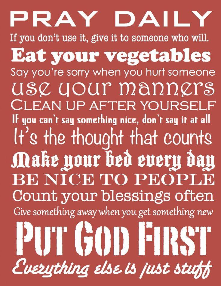 Simple Rules... Nice!
