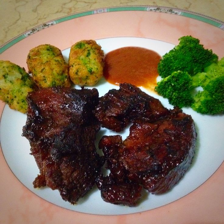 Honey Grilled Lamb Chop