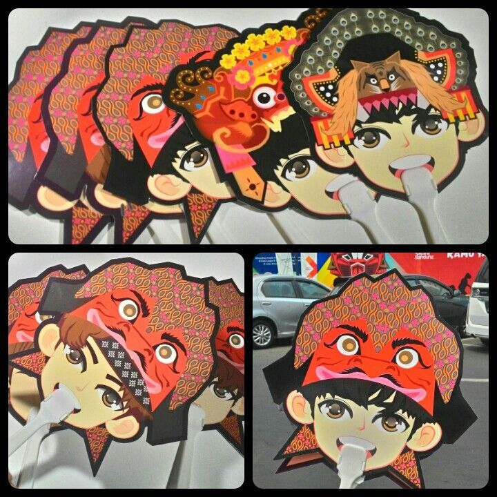 Nusantara Iconic paper fan