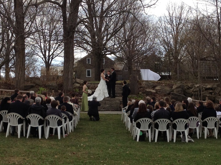 Outdoor Ceremony on April 14/12