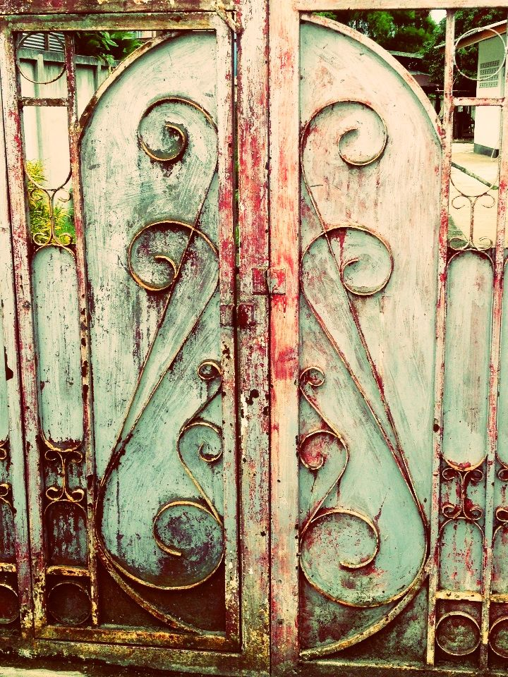 Wabi Sabi, Gardens Gates, Beautiful Doors, Gates Pais, Doors Gat, Old Gates