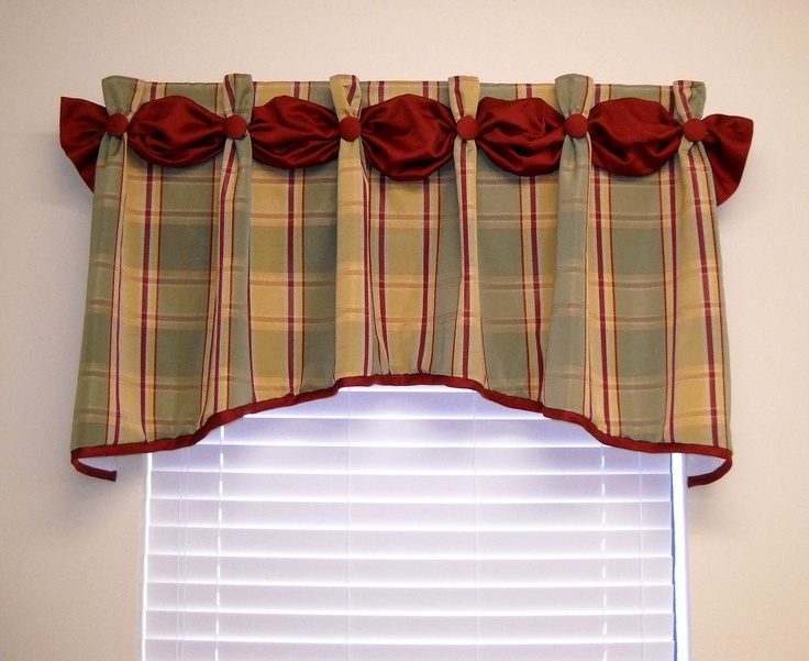 Window treatments Dana valance