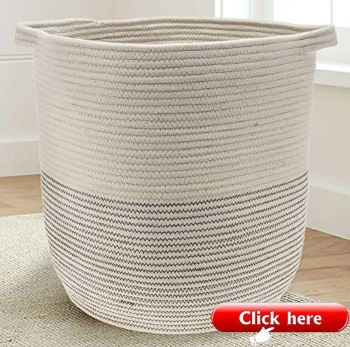 Extra Large Woven Storage Baskets Blanket Basket Large Storage Baskets Storage Baskets
