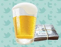 How To Make Beer Money With Twitter - Netwark