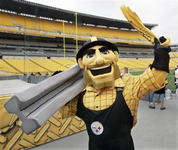 Steely McBeam - Pittsburgh Steelers' mascot