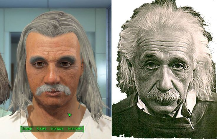 Albert Einstein recreated in Fallout 4 #alberteinstein #albert #einstein #fallout4 #fallout #bethesda #character #fallout4character #game #mod