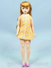 Brinquedos antigos - Estrela - Boneca Susi 100% original Olhos Pintados Primeira Série Ano 1968