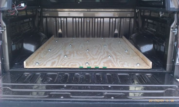 Pictures DIY - Bed Storage system for my truck