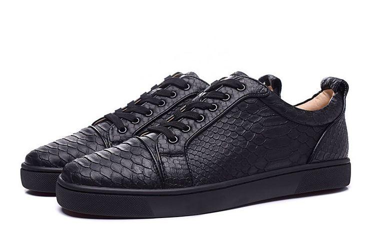 2015 Christian Louboutin Python Sneakers  pas cher 120,00 €