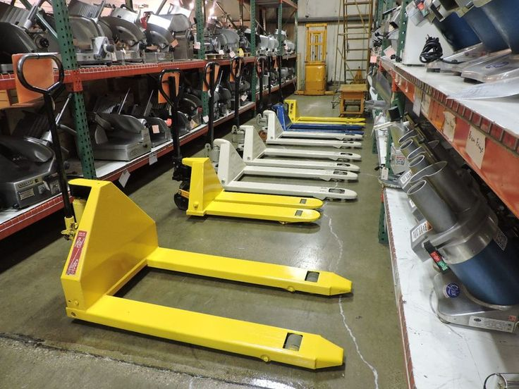 Used Pallet Jacks - Multiple Sizes #CrownKokeRolLiftYale