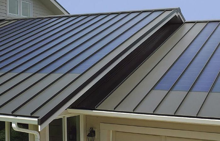 Hunting For Expert Sheet Metal Roofing Contractor In New York Ping Us Now And Let Us Show The Magic Right Awa Solar Panels Standing Seam Metal Roof Metal Roof