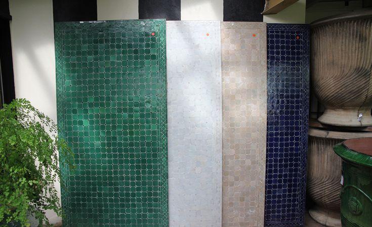 Moroccan Mosaic Tables 2 x 1m | Commercial landscape ...