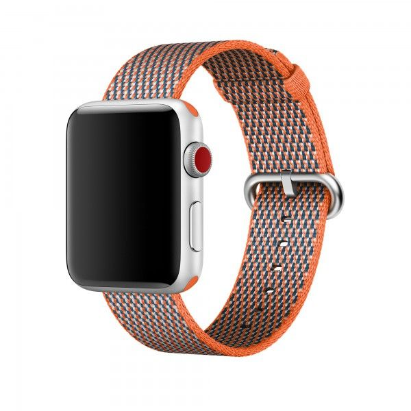 Apple Nylonarmband Fur 38mm Apple Watch Orangerot Apfeluhr Armband Uhren