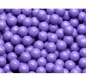 Lavender Purple Mini Milk Chocolate Balls: 5LB Bag