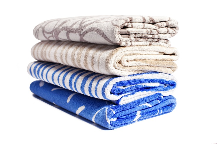 Add a splash of colour to brighten up your bathroom with these bath towels from mukula.