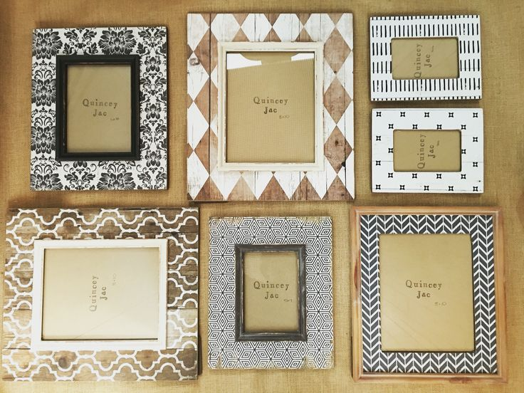 #frames #wooden #blackandwhite #homedecor #gifts #quinceyjac