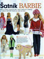 střihy na Barbie