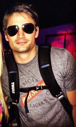 James Lafferty. This amount of facial hair? PERFECTION.