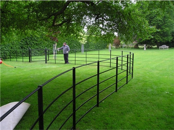 Wrought Iron Estate And Parkland Fencing Rbs Wrought