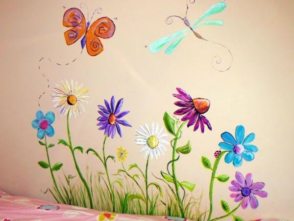 die besten 25 wandmalerei ideen auf pinterest wandbemalung tuschezeichnungen und wandmalereien. Black Bedroom Furniture Sets. Home Design Ideas