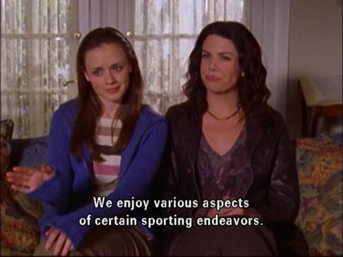 We enjoy various aspects of certain sporting endeavors.