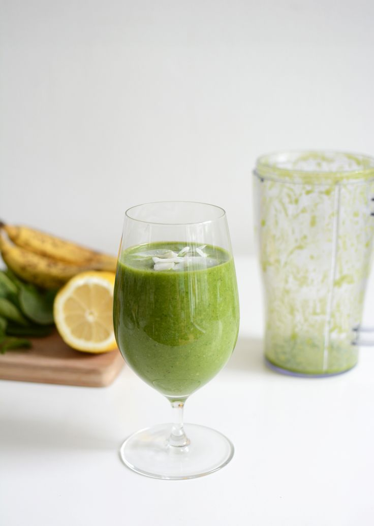 Pixi mit Milch   Rezept: Green Banana Smoothie (vegan)   http://piximitmilch.at