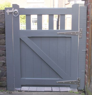 Slatted Belvoir Wooden Gate