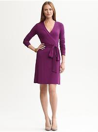 business attire - Gemma wrap dress