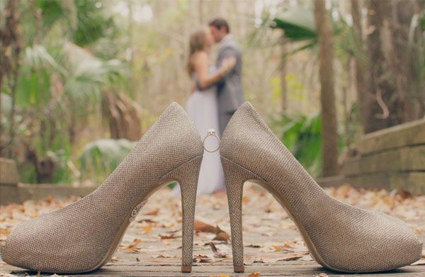 engagement ring and shoes [add grooms ring]