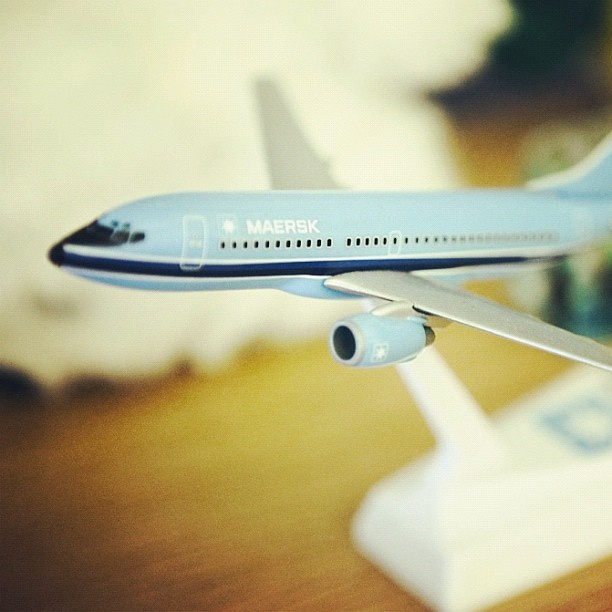Maersk Air scale model. Pretty rare piece.