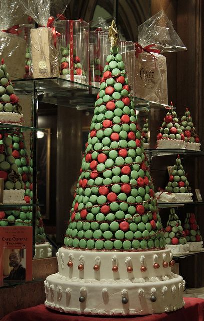 Macaroon Tree for Christmas party <3