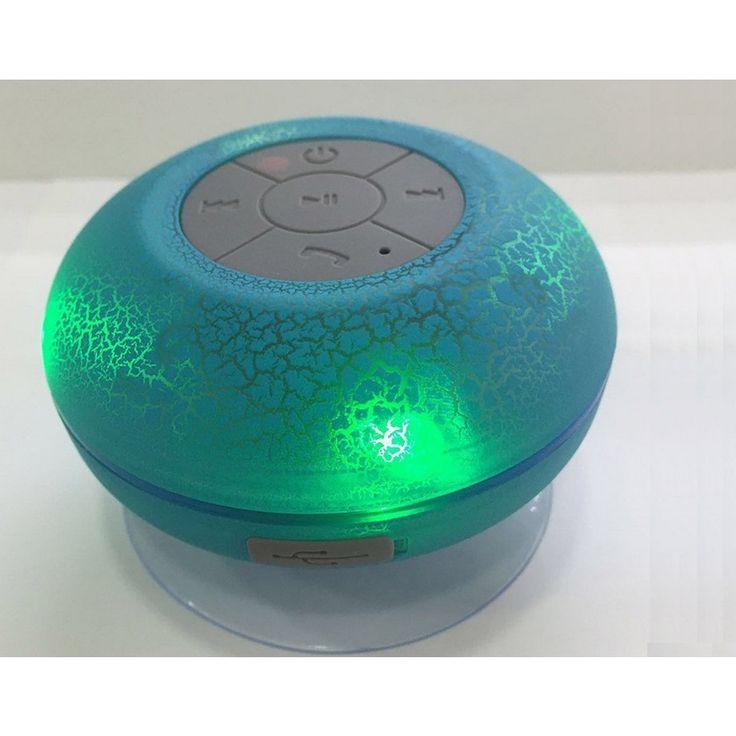 LAX Gadgets Wireless tooth Waterproof Shower Speaker #857333006946