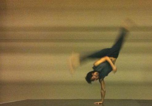 repetitie Eiland - Danstheater Adentro - foto: Céline Buren