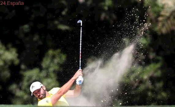 Un gran Sergio García se corona en el torneo de golf de Dubái