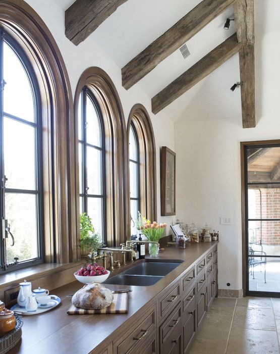 The interior architecture must visually and functionally be one Kitchen TraditionalNeoclassical by Sarah Blank Design Studio