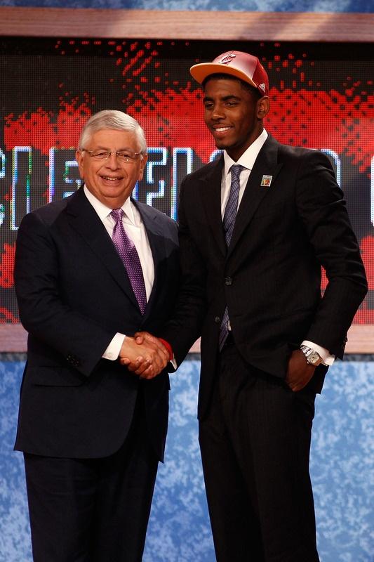 Kyrie Irving Cleveland Cavaliers NBA Draft David Stern