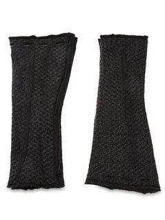 Label Under Construction 'Hooked' Fingerless Gloves