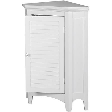 Photography Gallery Sites Elegant Home Fashions Sicily Corner Floor Cabinet with Shutter Door White Walmart