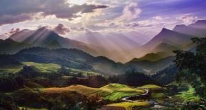 Sapa, Wietnam od Hercio Dias