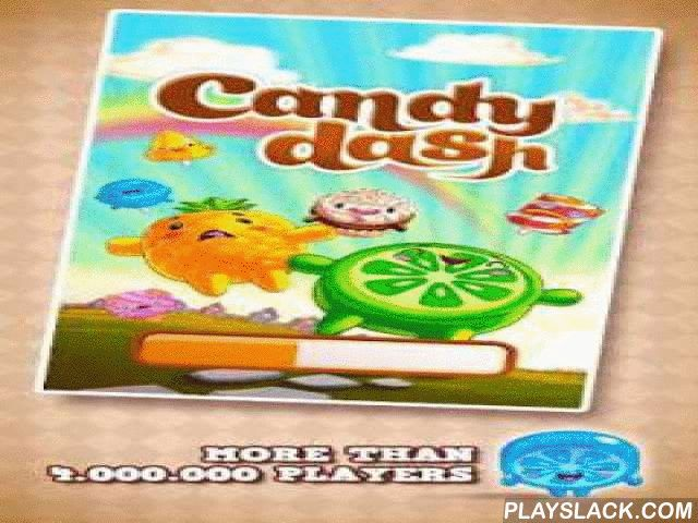 "Bubble Candy Dash  Android Game - playslack.com , Bubble Candy Dash is a game for candy hounds and those who like games of ""3-in-a-row"" kind. You have to take a shoot at sweets of the same material and they will disappear in threes. The joyous game with the same affirmative music."